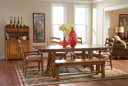 broyhill attic heirlooms dining table | a plus design reference