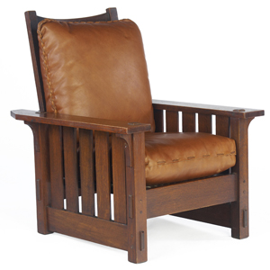 Morris Chairs, Such As This One, Showcase The Clean Lines And Simplicity  The Arts U0026 Crafts Movement Embodied.