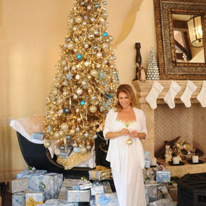 celebrity designer shares holiday decorating tips