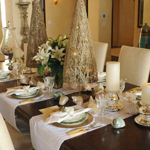 christmas tree designs offer a festive way to decorate your dining