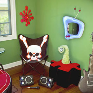 A very easy and inexpensive way to transform a teen room is to buy new ...