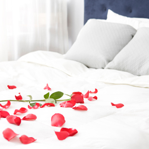 Romantic Bedrooms With Roses