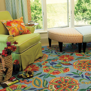 Brightly Colored Rugs Homefurnishings Com Compelling Color Trends