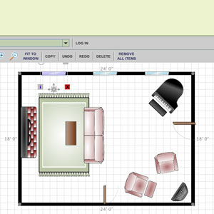 creating your room plan online is simple using our room planner