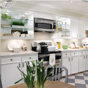 HomeFurnishingscom Candice Olsons Big Ideas for Little Kitchens