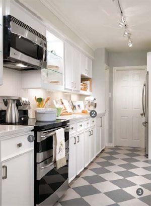 HomeFurnishings.com: Candice Olson's Big Ideas for Little Kitchens